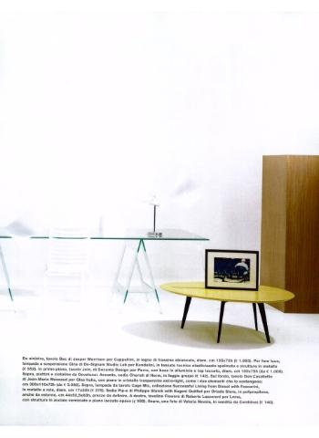 CAPPELLINI Bac rectangulare table by Jasper Morrison