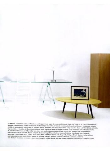 CAPPELLINI Bac rectangulare table by Jasper Morrison