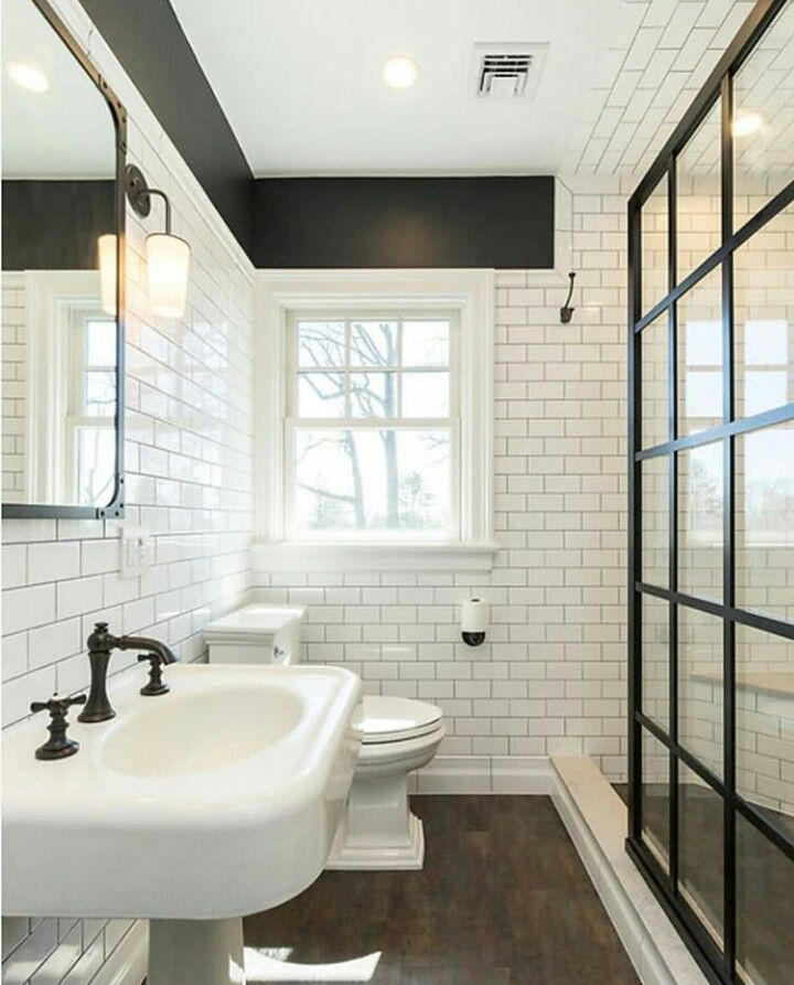55 Subway Tile Bathroom Ideas That Will Inspire You Bathrooms Remodel Subway Tiles Bathroom Tile Bathroom