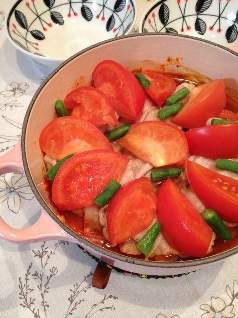 ♫ トマトキムチ鍋 ♪