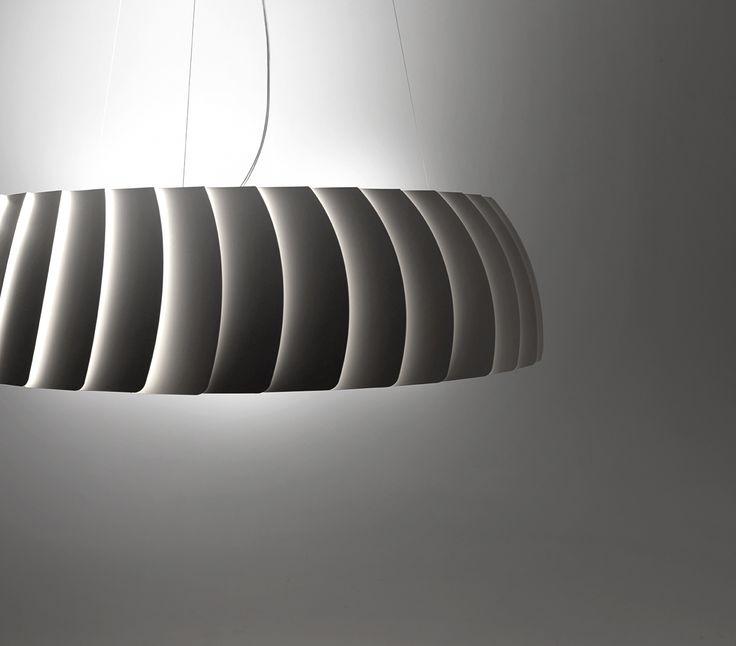 MEGAVIDE design S. Cornelissen Do You desire a Big led suspension with a modern design? Designer S. Cornellisen creates Megavide! Made of painted Aluminum in 3 different dimensions suitable for several applications. 100% MADE IN ITALY Link: http://www.egoluce.com/lista.php?idf=635&nf=MEGAVIDE&lg=EN