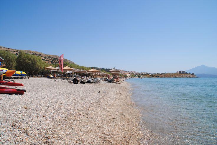 Der Strand von Pythagorion