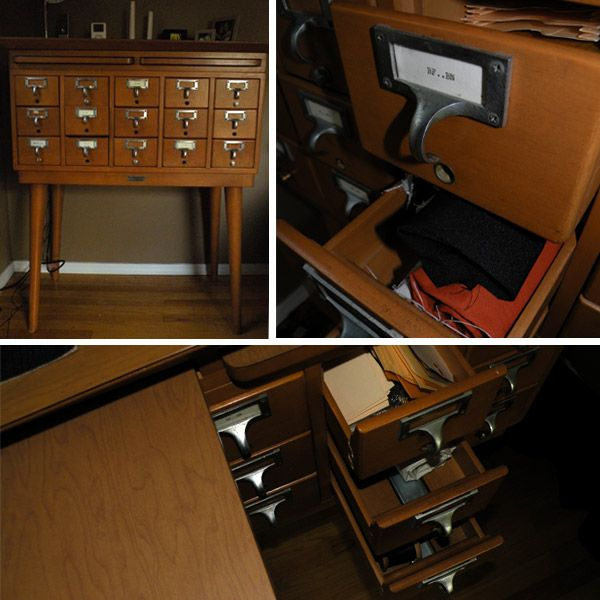 17 Best Images About Library Card Catalog Leg Ideas On Pinterest Vintage Library Furniture