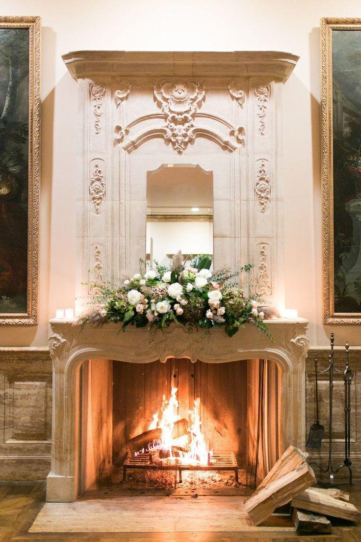 22 best fireplace altar mantel floral designs images on