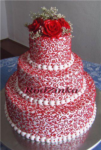 кремовые свадебные торты - Поиск в Google