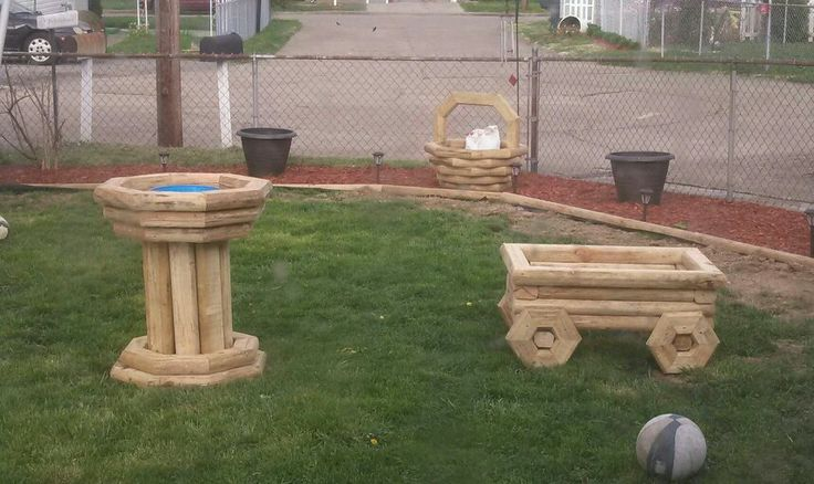 the new planters landscaping timber projects pinterest