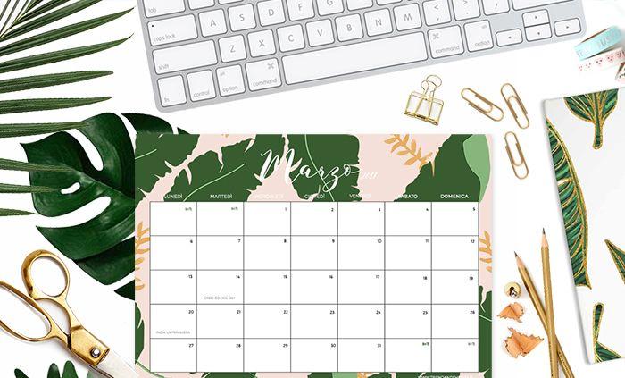 Download: calendario Marzo 2017 + weekly planner e sfondi per iPhone e computer | Trend and The City
