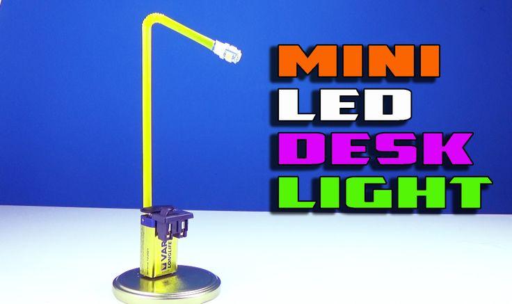 SIMPLE MINI LED DESK LIGHT CREATIVE IDEA