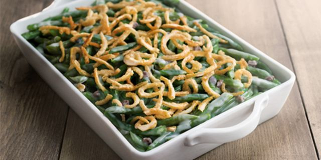 Holiday classics with a twist: Green Bean Casserole