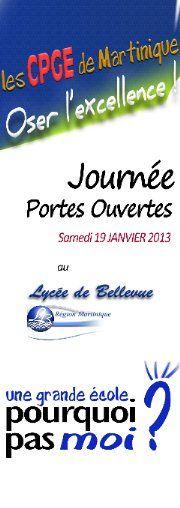 Lycée de Bellevue rue Marie Thérèse Gertrude B.P. 637 97262 Fort de France