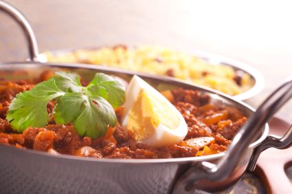 Easy Chickpea And Mince Curry