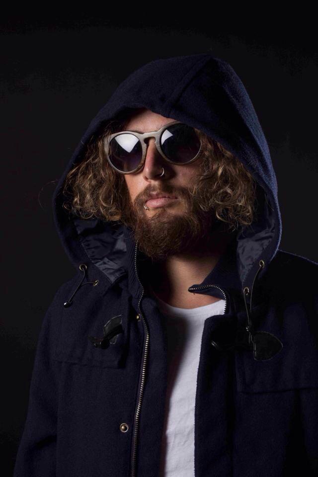 Andy blue steelin' in the Tiki  www.topheads.com.au #photography #art #bamboo #wood #sunglasses #surf #bondi #topheads #eyewear