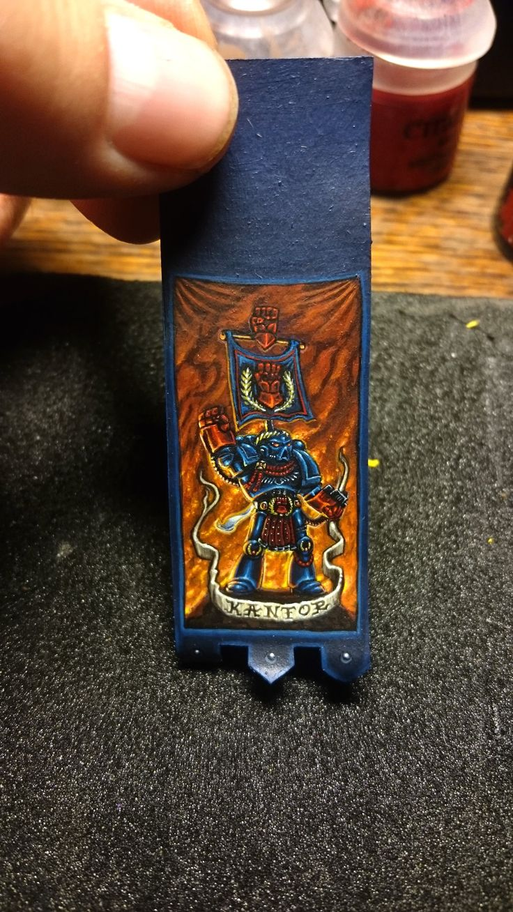 Space Wolves Banners Crimson Fist Banner by...