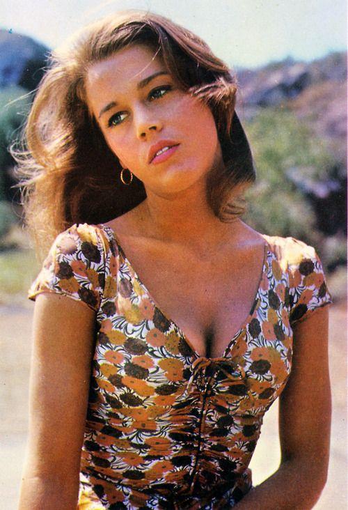 pinterest.com/fra411 #60's  Jane Fonda.