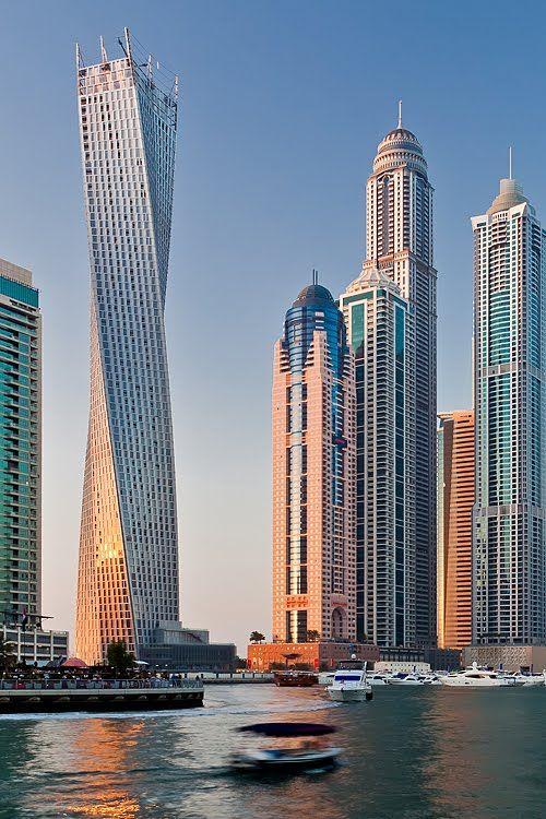 Infinity Tower,  Dubai by funtor