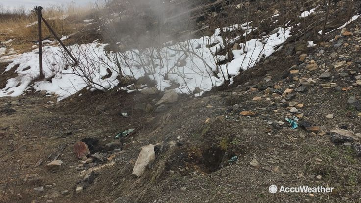 On March 20, AccuWeather's Courtney Barrow and Erik Austin visited Centralia, where an underground coal fire left this town almost completely abandoned.