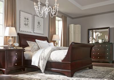 Whitmore Cherry 6 Pc King Sleigh Bedroom. $1,899.99.  Find affordable Bedroom Sets for your home that will complement the rest of your furniture.