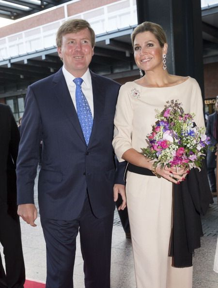 King Willem-Alexander of The Netherlands and Queen Maxima of The Netherlands attend the opening of Holland Festival on June 1, 2014 in Amsterdam, Netherlands