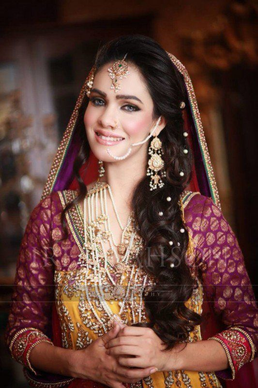 Latest Bridal Hairstyles 2016 For Modish Girls