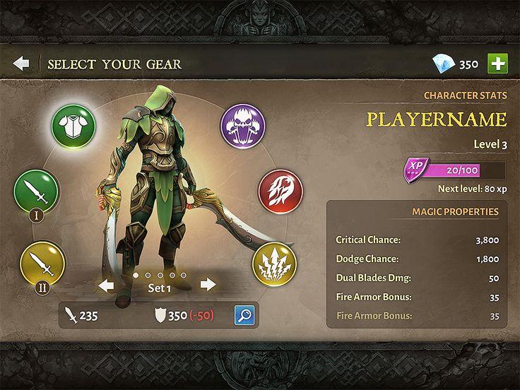 Dungeon Hunter 5 Character Sheet by Panperkin on DeviantArt