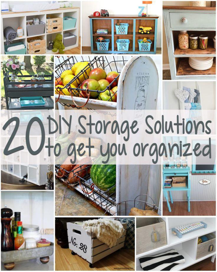 20 DIY Storage Solutions