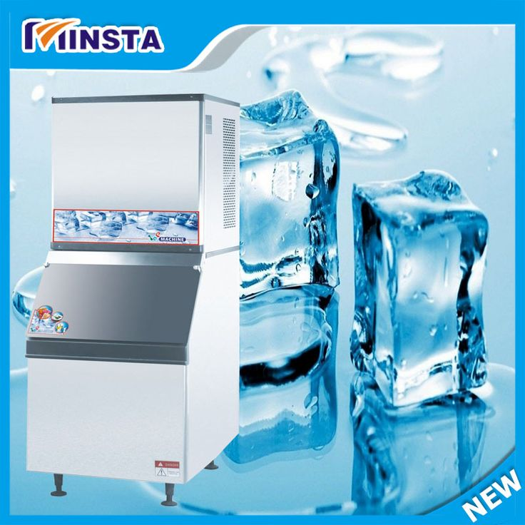CE certificate 150 Kg commercial industrial ice cube making machine ice machine ice maker