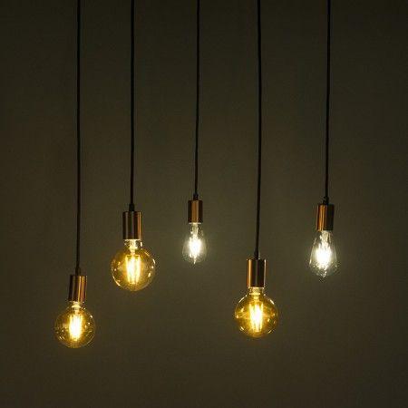Pendelleuchte Cava 5 kupfer  Der minimalistische, #frische #Look wird Ihnen #zuhause die #Show stehlen. Für zusätzliche #Style-Punkte, können Sie eine dekorative #Lichtquelle verwenden! Raffinierte #Kombinationen mit mehren anderen #Leuchten dieser Serie möglich.