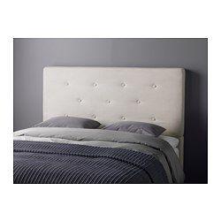 IKEA - BEKKESTUA, Cabecero, , Este cabecero mullido es muy cómodo para ver la TV o leer en la cama.