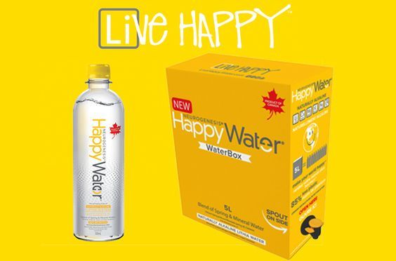 Jen's Blog of Random Thoughts: Happy Water: