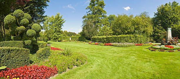 ヨーロッパ フランス のスマホ壁紙 Id 94980471 な庭園の緑の Golf Courses Field