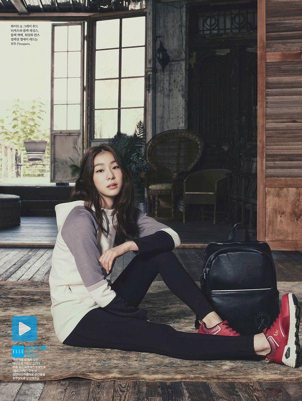#Yuna Kim #김연아 - ELLE Koera