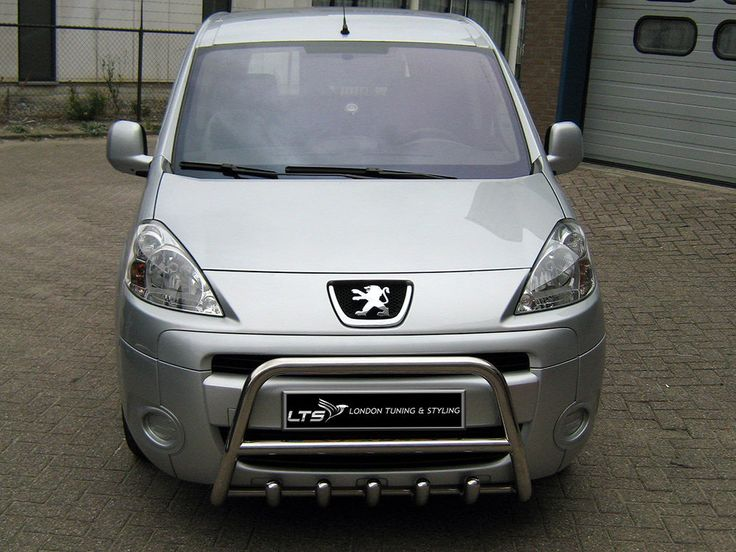 #Peugeot #Partner #Tepee 1998 - 2007 #Chrome Axle Nudge A-Bar, #BullBar   #eBay