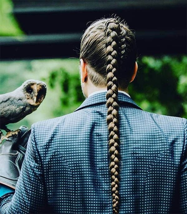 The Best Men's Ponytail Hairstyles For 2019 (26 Ultimate Picks)   Hair styles, Mens medium ...