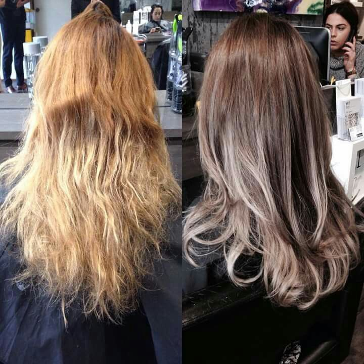 Beautifully blended cool tones created at Whiteivy studio