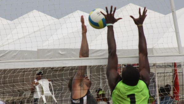 Voleibol masculino en semifinal de Mar y Playa / Men's volleyball semifinal Sea and Beach