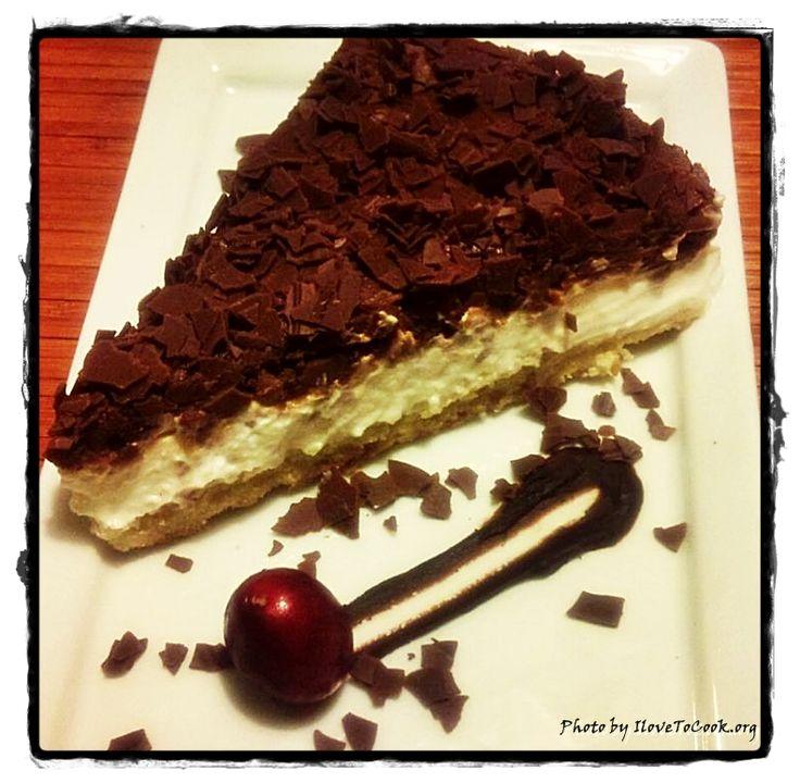 Chocolate Chip Cheesecake | I Love Baking | Pinterest