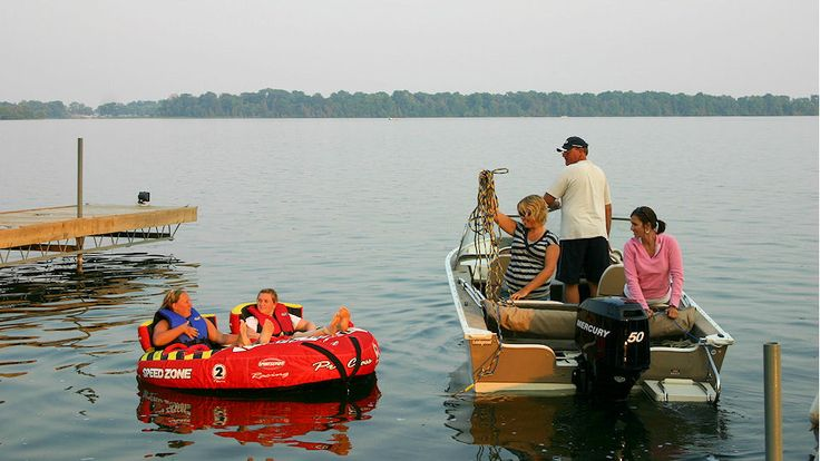 Water fun at West Lake - Photo thanks to Sunrise Cottage Resort sunrisecottageresort.com