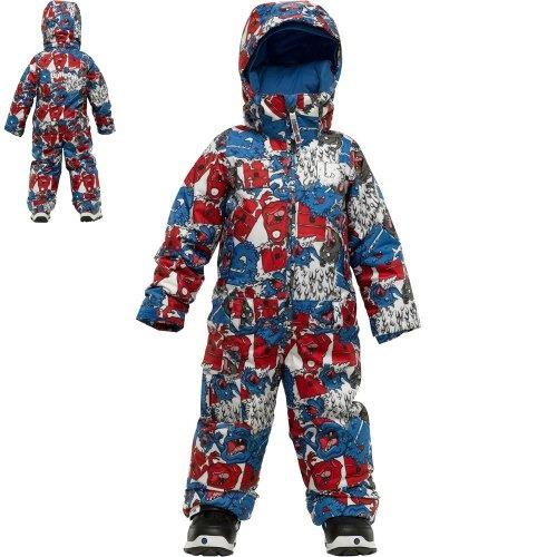 Burton Kids Striker One-Piece Snowsuit – Hazmat « Clothing Impulse