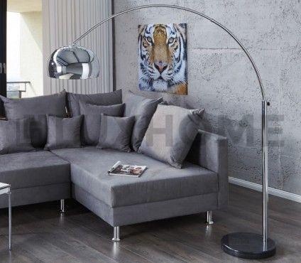 Moderní stojací lampa - Molie, lesklá