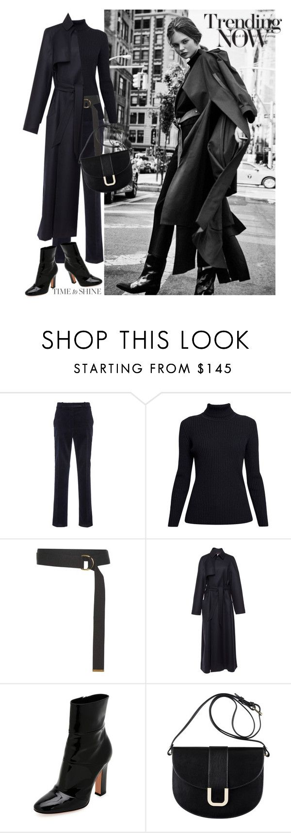 """Looking Smart"" by jacque-reid ❤ liked on Polyvore featuring Martin Grant, Rumour London, Marni, Gianvito Rossi and A.P.C."