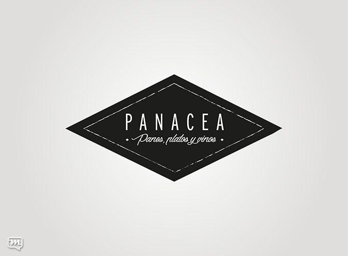 Logo Design for Panacea Restaurant by Materia 360. Graphic Design