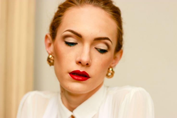#redlips #makeup #fashion #style