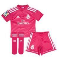 Segunda Equipacion Real Madrid Niños Rosa 2014-2015 pincha aquí: http://www.deportesmena.es/tienda-real-madrid/3147-equipacion-real-madrid-ninos-rosa-2014-2015.html