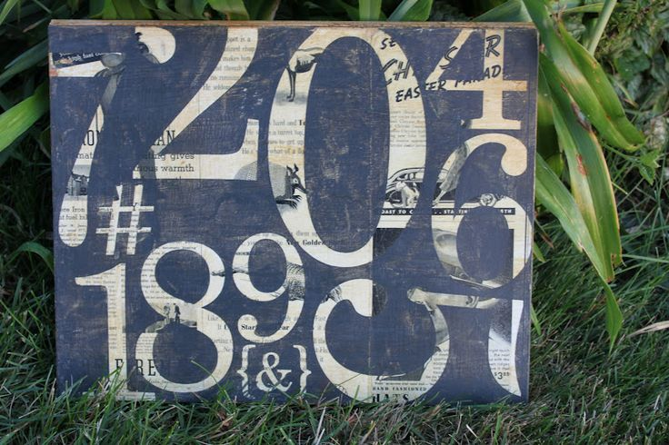 Number art PB knockoff: Barns Art, Wall Art, Diy Artworks, Cat Crafts, Numbers Art, Vintage Numbers, Pottery Barns Inspiration, Barns Knock, Knock Off