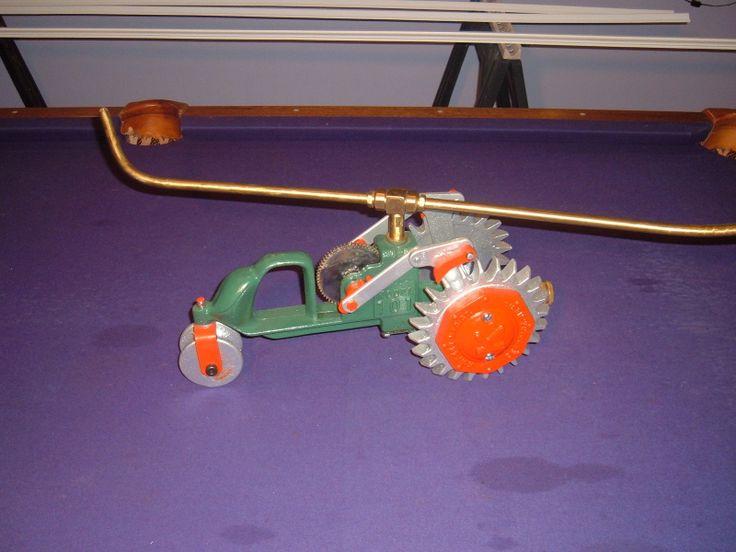 Tractor Sprinkler Shut Off : Vintage fd kees model lawn sprinkler tractor nice