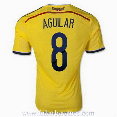 comprar Nueva camiseta de Aguilar 1st Colombia 2014-2016