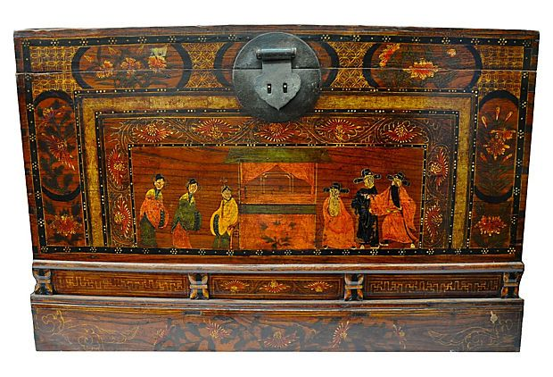 One Kings Lane - Eastern Influence - Asian Blanket Chest