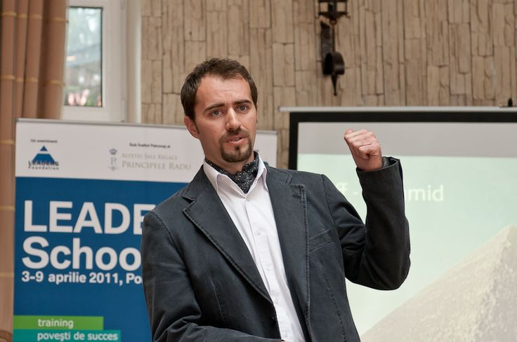 Dr. Roland Hermann la LEADERS School, editia a 7-a, aprilie 2011, Poiana Brasov. #leadersschool