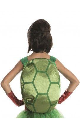 disfraz de raphael tortugas ninja deluxe para nia