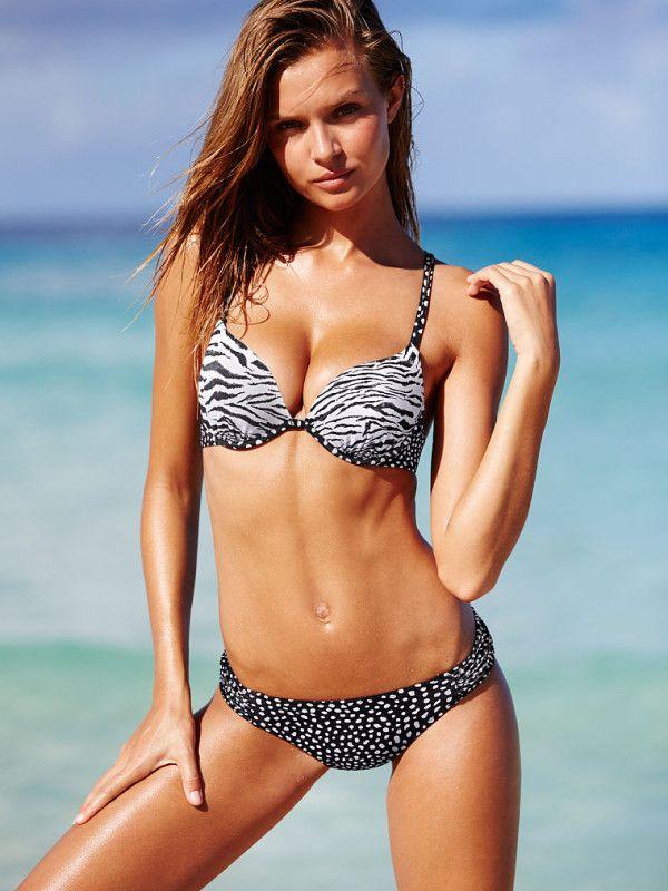 Bikinis Push Up 2016: Tirantes normales